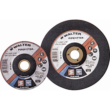Depressed Centre Grinding Wheels, Pipe Fitter Type 35