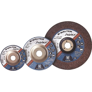 Depressed Centre Grinding Wheels, Stainless Type 27