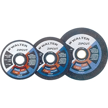 Zipcut Right Angle Grinder Reinforced Cut-off Wheels, Qty/pk 12, Vv154