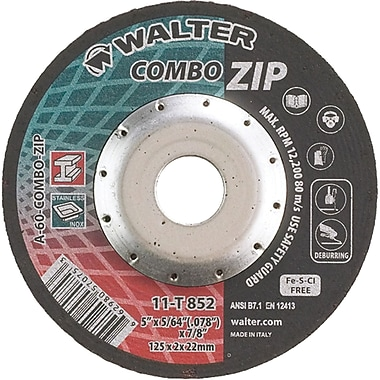 Right Angle Grinder Reinforced Cut-off Wheels, Combo Zip