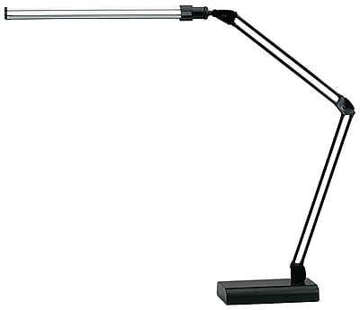 V-LIGHT LED Energy-Efficient Ultra-Slim Desk Lamp, Black Finish (VSL188NC)