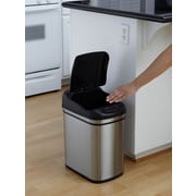 Nine Stars 6.3gal Stainless Steel Motion Sensor Trash Can (DZT-24-1)