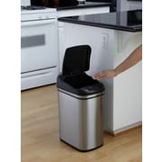 Nine Stars 7.9gal/30L Stainless Steel Motion Sensor Trash Can (DZT-30-1)