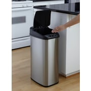 Nine Stars 13.2gal Stainless Steel Motion Sensor Trash Can (DZT-50-6)