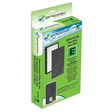 GermGuardian® – Filtre de rechange E FLT4100 AUTHENTIQUE True HEPA pour purificateur AC4100 de Guardian Technologies