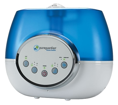 PureGuardian H1610 100-Hour Ultrasonic Warm and Cool Mist Humidifier, Digital, 1.5-Gallons 1932854