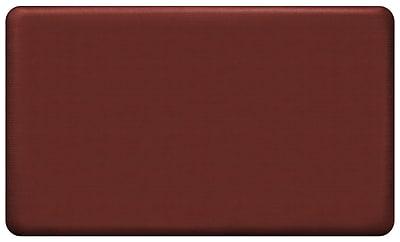 NewLife by GelPro Designer Comfort Standing Mat: Grasscloth Crimson : 18x30
