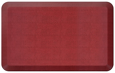 NewLife by GelPro Designer Comfort Standing Mat: 20x32: Pebble Pomegranate