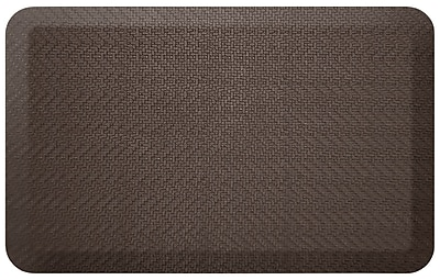 NewLife by GelPro Designer Comfort Standing Mat: 20x32: Sisal Coffee Bean