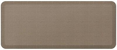 NewLife by GelPro Designer Comfort Standing Mat: 20x48: Grasscloth Pecan