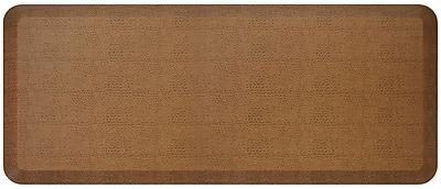 NewLife by GelPro Designer Comfort Standing Mat: 20x48: Pebble Caramel