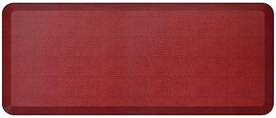 NewLife by GelPro Designer Comfort Standing Mat: 20x48: Pebble Pomegranate