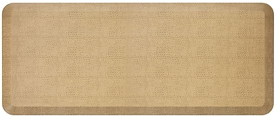 NewLife by GelPro Designer Comfort Standing Mat: 20x48: Pebble Wheat