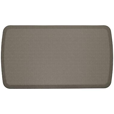 GelPro Elite Premiere Anti-Fatigue Comfort Mat: 20x36:Linen Granite Grey