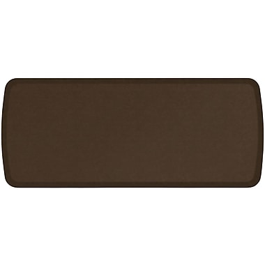 GelPro Elite Premiere Anti-Fatigue Comfort Mat: 20x48: Vintage Leather Rustic Brown