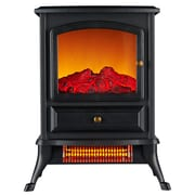 Warm Living 1000W, 800SqFt, Infrared Stove Fireplace Heater (WL207)
