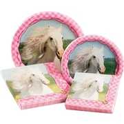 Creative Converting Heart My Horse Party Table Ware Kit (Set of 64)