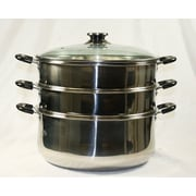 Concord 3 Tier Steamer Steam Pot; 11.81''