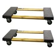 Buffalo Tools 1000 lb. Capacity Furniture Dolly (Set of 2)