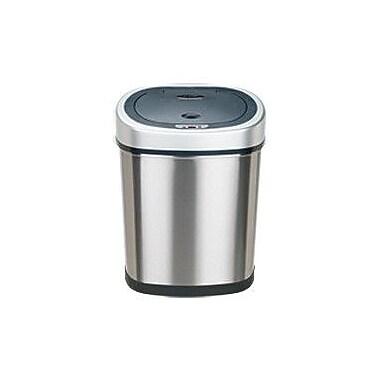 Nine Stars Stainless Steel 11.1 Motion Sensor Trash Can
