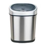 Nine Stars 11.1-Gal Stainless Steel Motion Sensor Trash Can