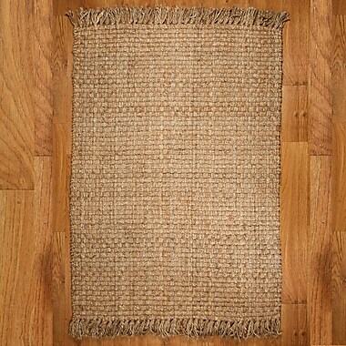 Natural Area Rugs Carlisle Hand Woven Brown/Tan Area Rug; 8' x 10'