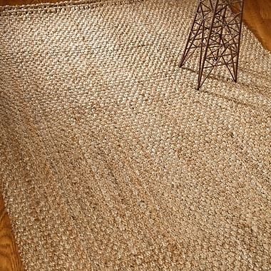 Natural Area Rugs Castillian Hand Woven Brown/Tan Area Rug; 6' x 9'