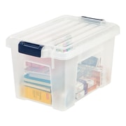 Staples® 6.75 Gallon Storage Tote (251404)