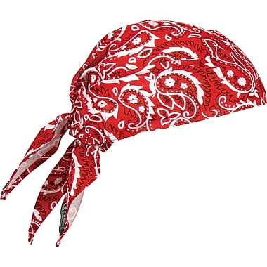 Chill-Its 6710 Cooling Triangle Hats, Red Western