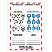 Étiquettes SIMDUT pour milieu de travail, 5/paquet