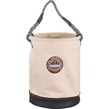 Arsenal Leather Bottom Canvas Tool Buckets