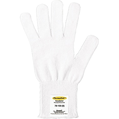Insulator Gloves, 78-101/78-150, One Size, White, 288/Pack