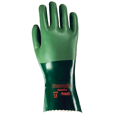 Scorpio 8-354 Gloves, Neoprene, Size 9, 12/Pack