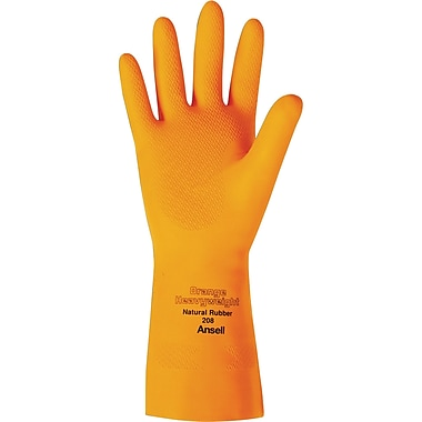Orange Heavyweight 208 Series Gloves, 2X-Large, 48/Pack