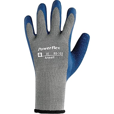 Powerflex 80-100 Gloves, Size 7, 48/Pack