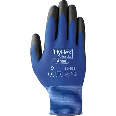 HyFlex 11-618 Gloves, Size 8, 48/Pack