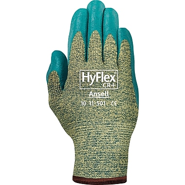 HyFlex 11-501 Gloves, 9, 6/Pack