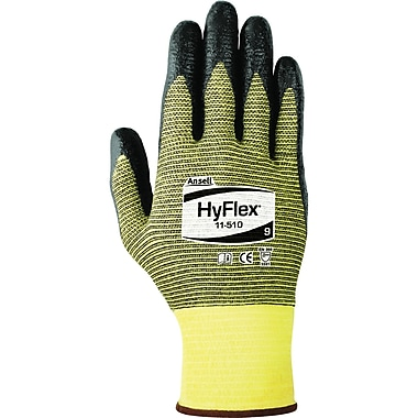 HyFlex 11-510 Gloves, Size 11, 6 Pairs/Pack