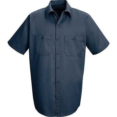 Industrial Solid Work Shirts, SEE149, Large, 4/Pack