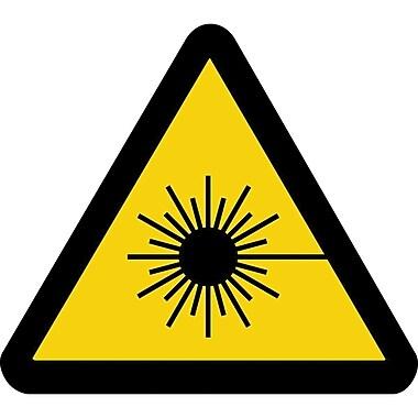 ISO Safety Labels, Warning, Lazer Hazard, SAX439