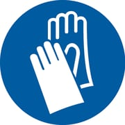 PPE Pictogram Labels, Gloves, SAX267