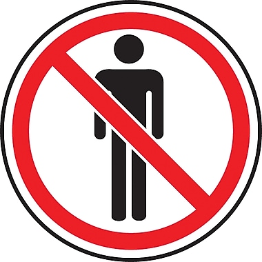 CSA Pictogram Safety Signs, Do Not Enter, SAW840