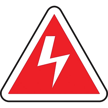 CSA Pictogram Safety Signs, Electric Hazard, SAW779