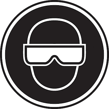 CSA Pictogram Safety Signs, Eye Protection Required, SAW864