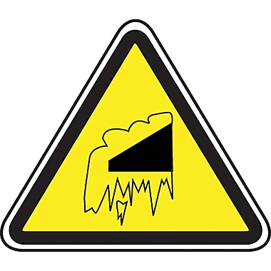 CSA Pictogram Safety Signs, Falling Snow, SEA431