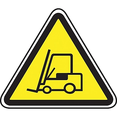 CSA Pictogram Safety Signs, Forklift, SEA425