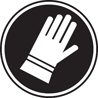 CSA Pictogram Safety Signs, Hand Protection Required, SAW872