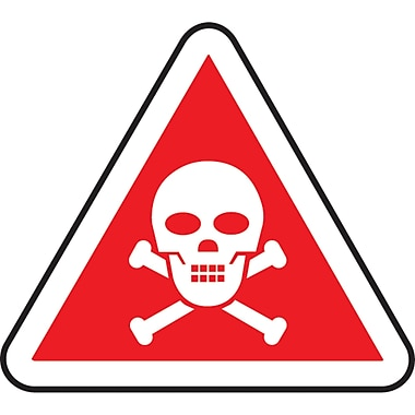 CSA Pictogram Safety Signs, Poison, SD089