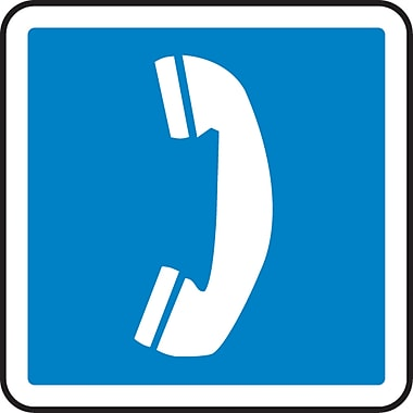 CSA Pictogram Safety Signs, Public Telephone, SAW821