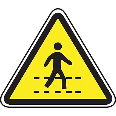 CSA Pictogram Safety Signs, Safety Lane, SEA437
